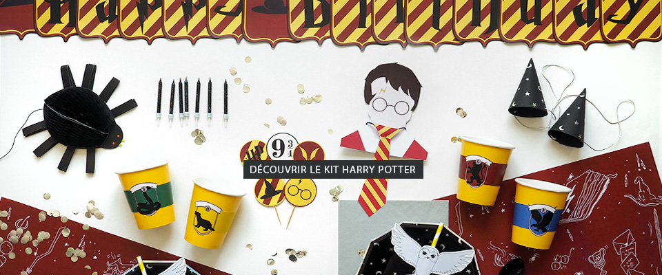 Kit anniversaire Harry Potter