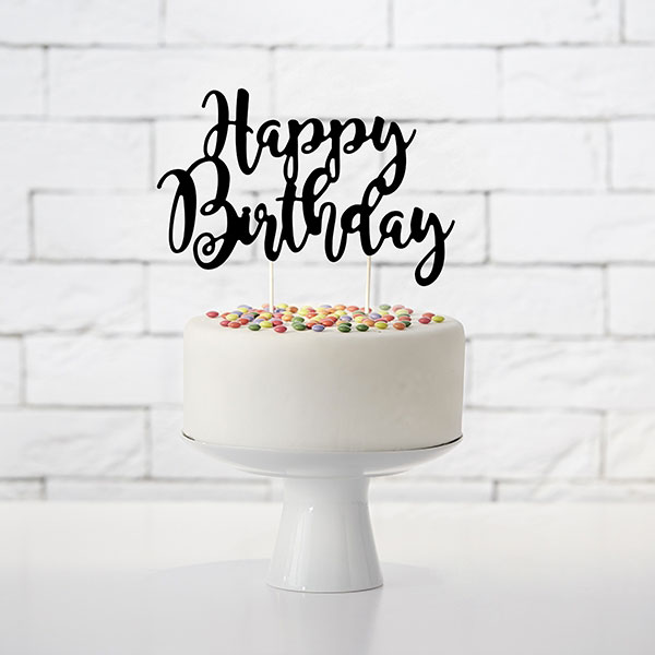 cake-topper-happy-birthday-en-papier-noir-decor-gateau-anniversaire