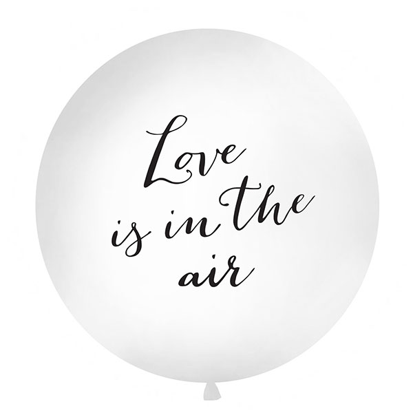 Ballon géant Love is in the air