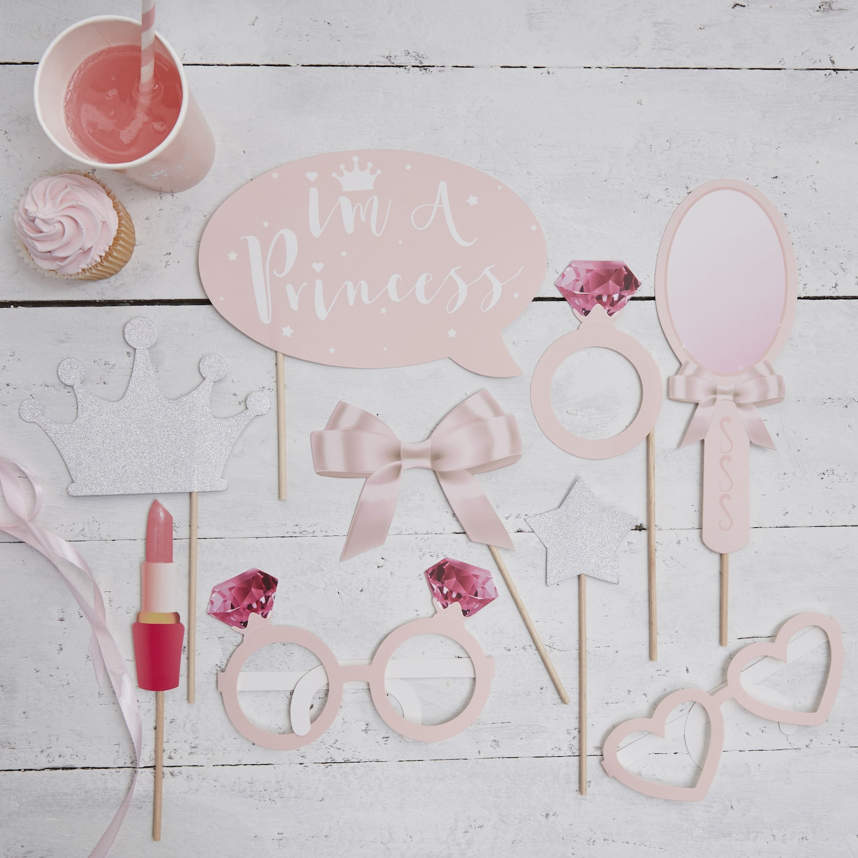 9 accessoires photobooth princesse