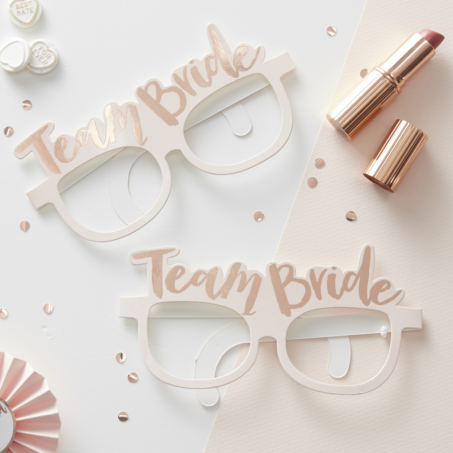 lunette-papier-rose-gold-team-bride-mariage-evjf-gingerray