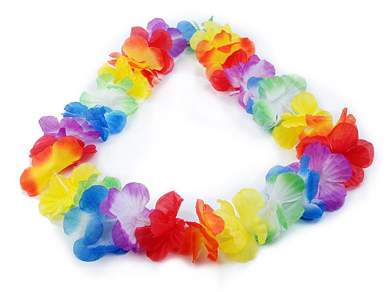 Collier de fleurs hawaien