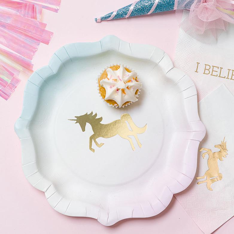 assiette jetable carton pastel anniversaire licorne achat vente. Black Bedroom Furniture Sets. Home Design Ideas