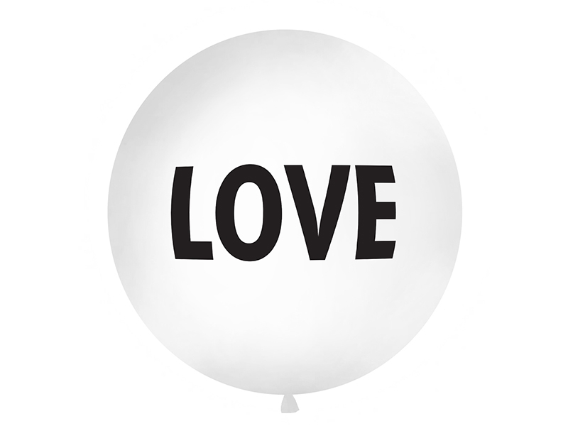Ballon géant Love
