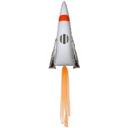 Ballon mylar fusée