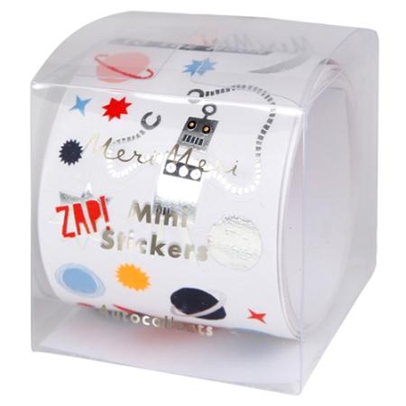 500 mini stickers espace