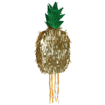Pinata ananas dorée