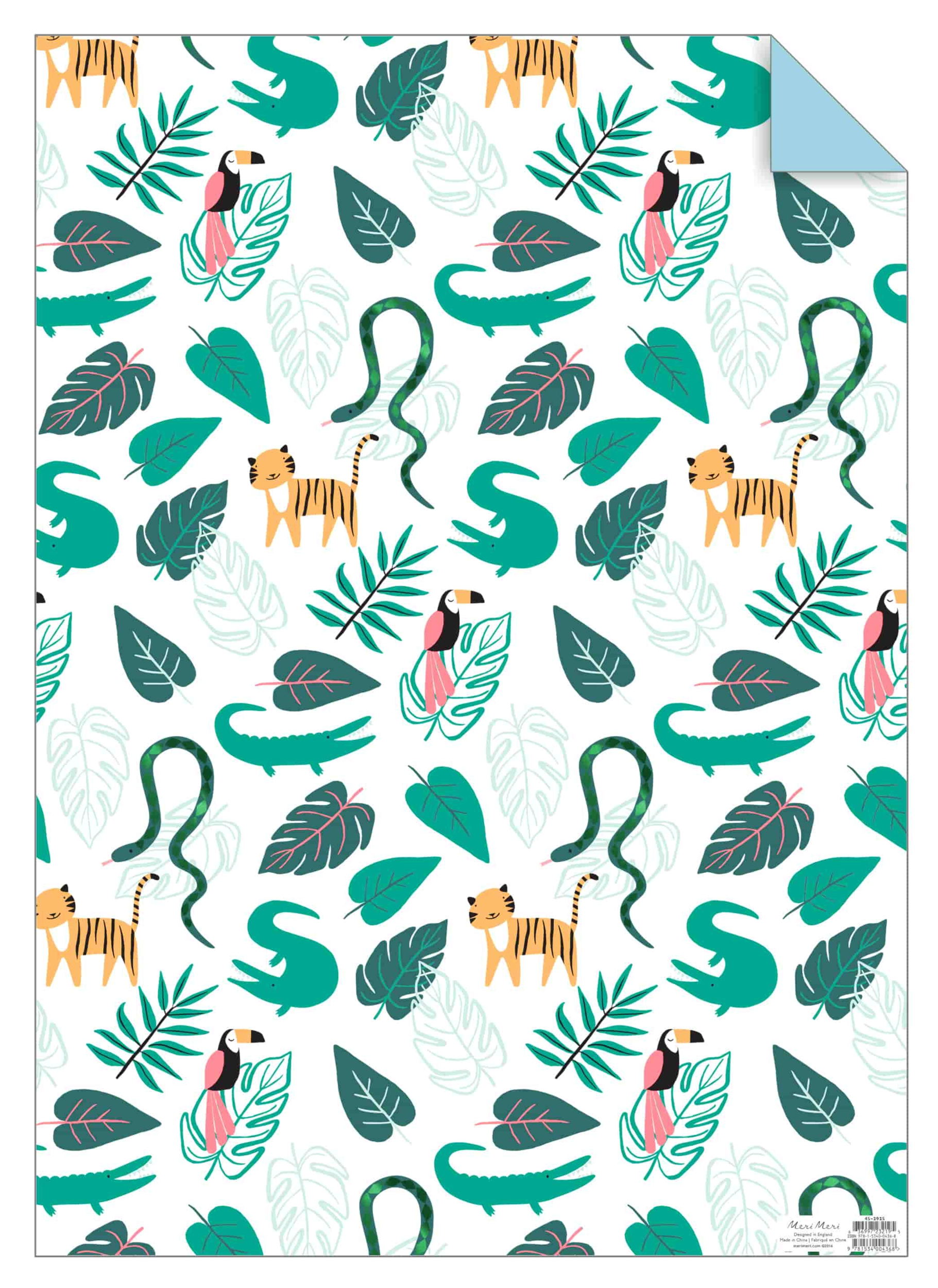 papier-cadeau-anniversaire-jungle-meri-meri