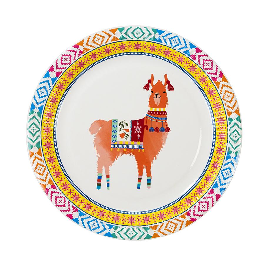 assiette-jetable-lama-en-carton-fete-anniversaire-talking-tables