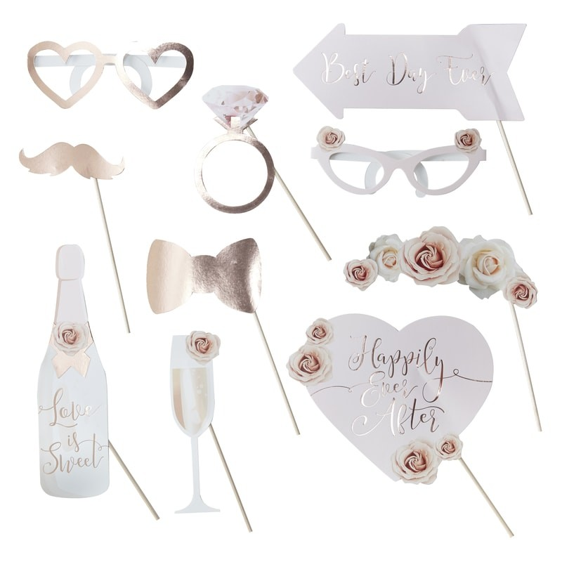 kit accessoire photobooth mariage ginger ray achat vente. Black Bedroom Furniture Sets. Home Design Ideas