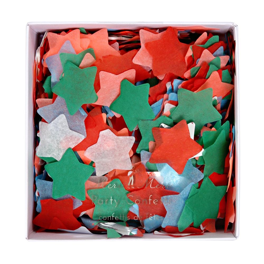 Confettis étoile en papier