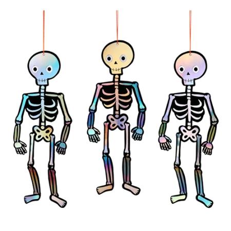 suspension-squelette-en-papier-holographique-argent-decoration-halloween-meri-meri