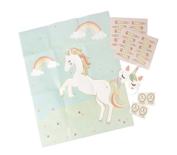 jeu de la licorne animation anniversaire fille talking tables achat. Black Bedroom Furniture Sets. Home Design Ideas