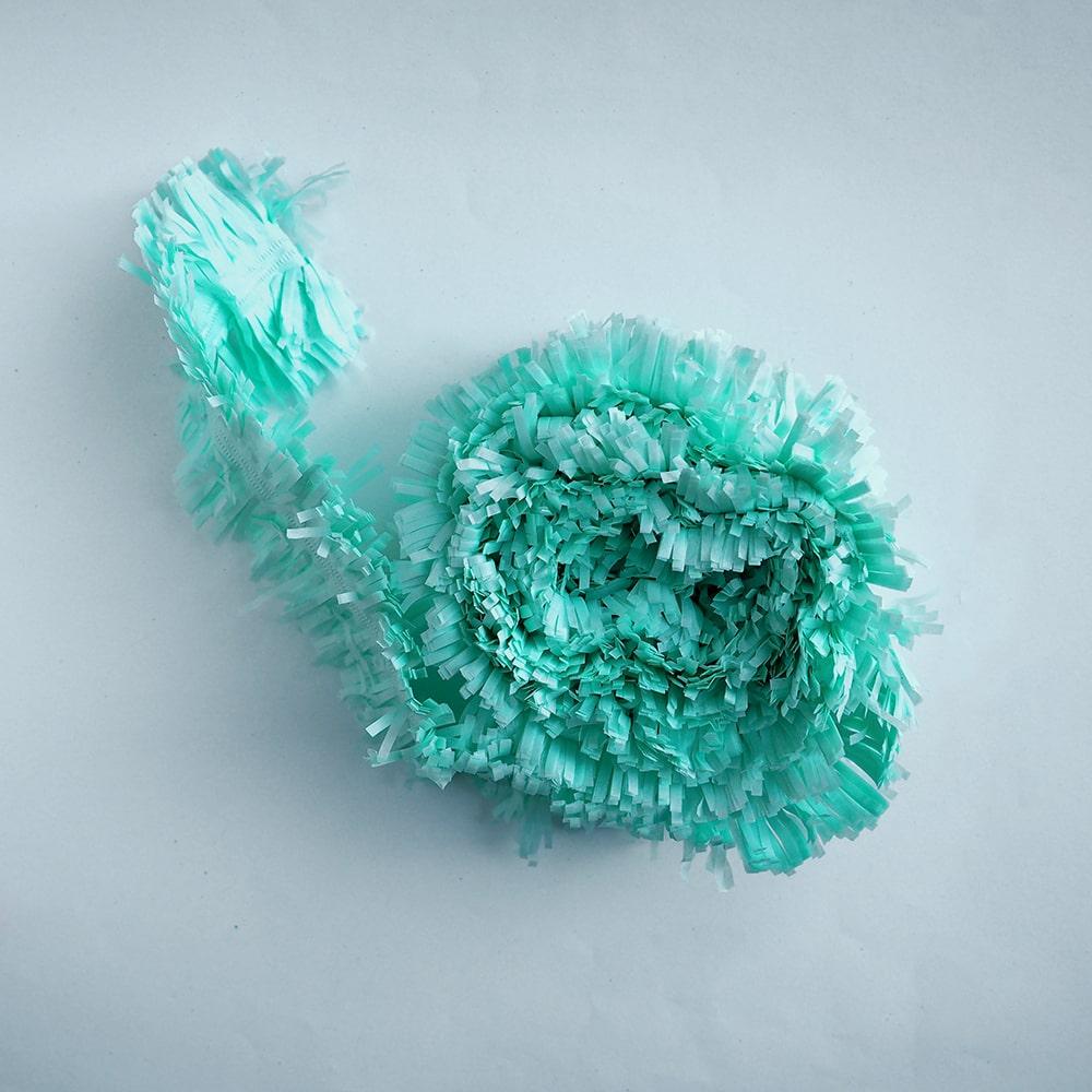 guirlande-frange-papier-vert-menthe