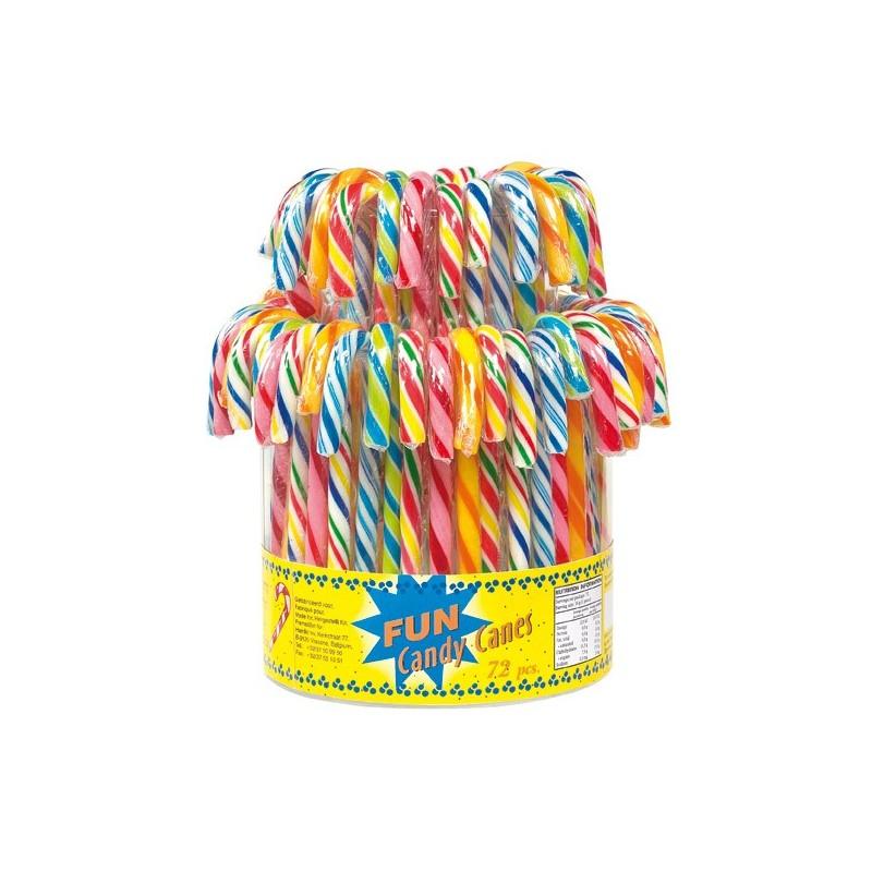 5 sucres d\'orge multicolores