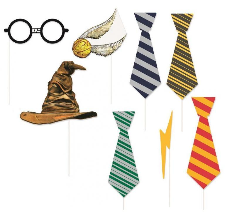 8 accessoires photo Harry Potter