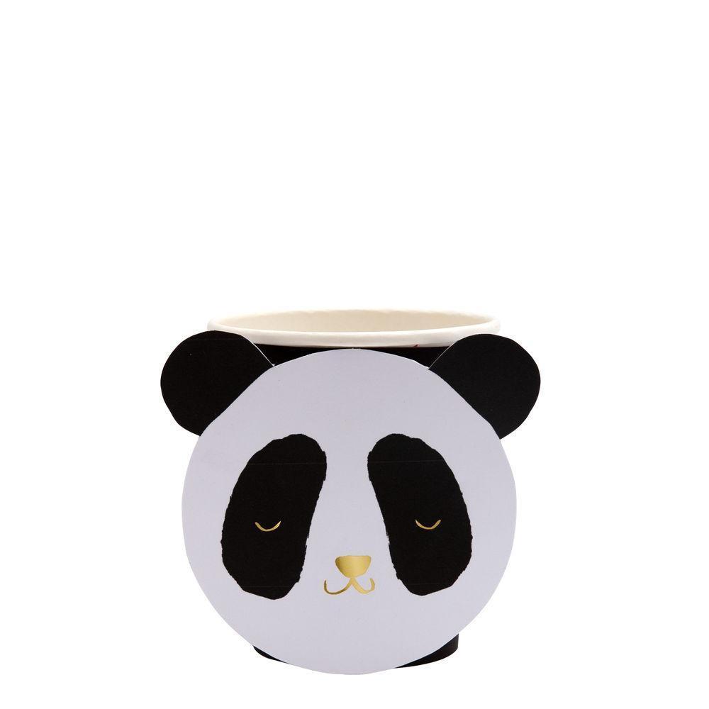 8 gobelets panda