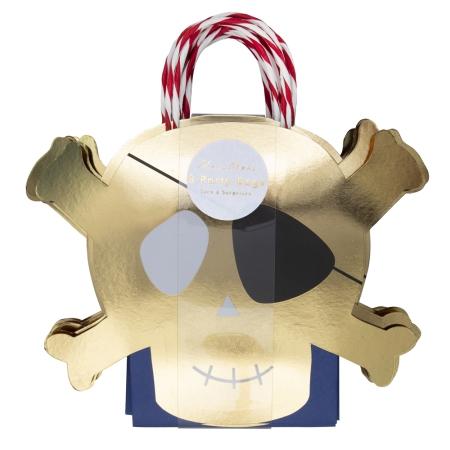 8 sacs cadeau pirate