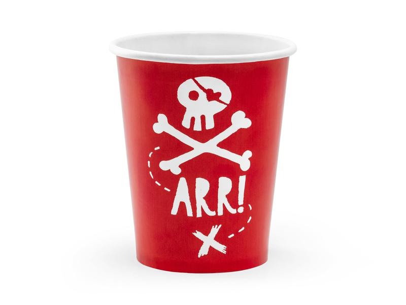 6 verres de pirate