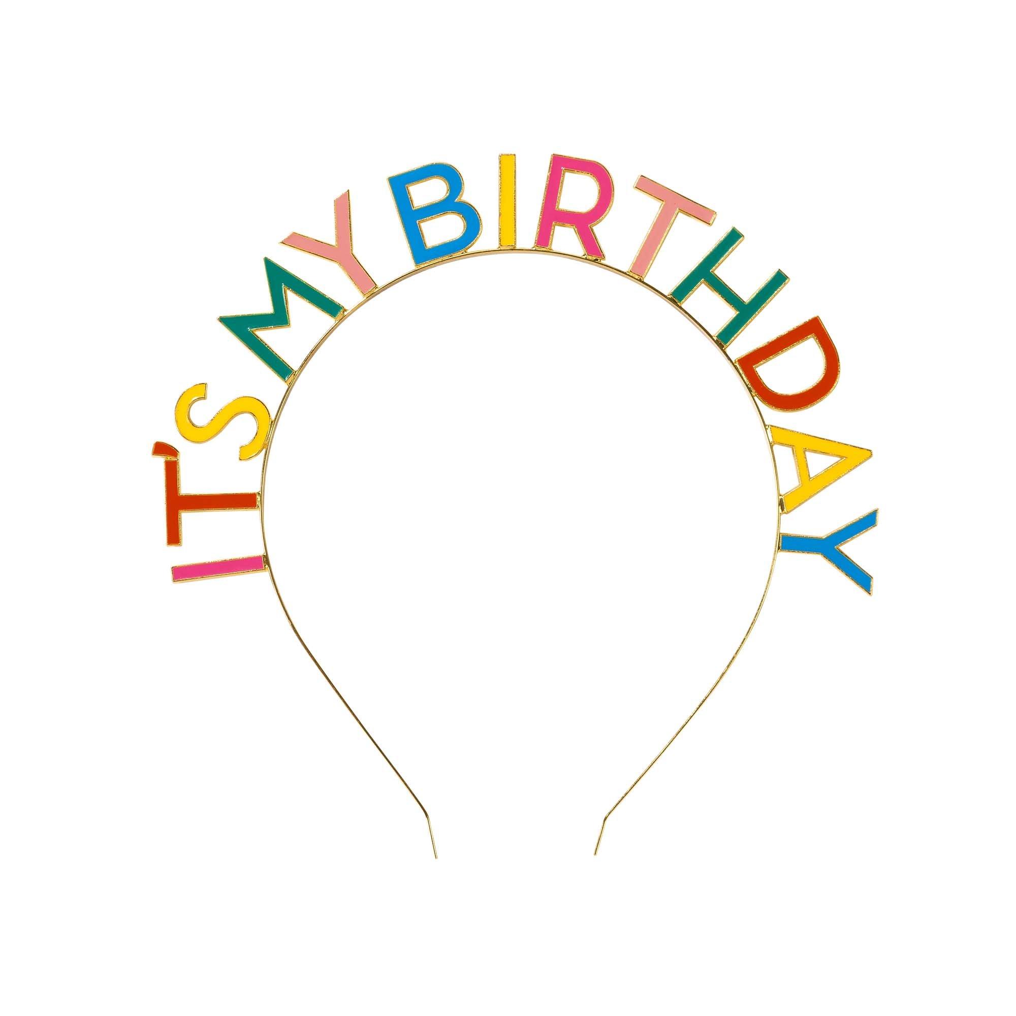 Serre tête anniversaire