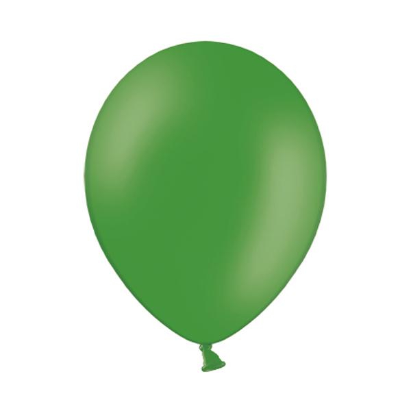 10 ballons de baudruche vert émeraude