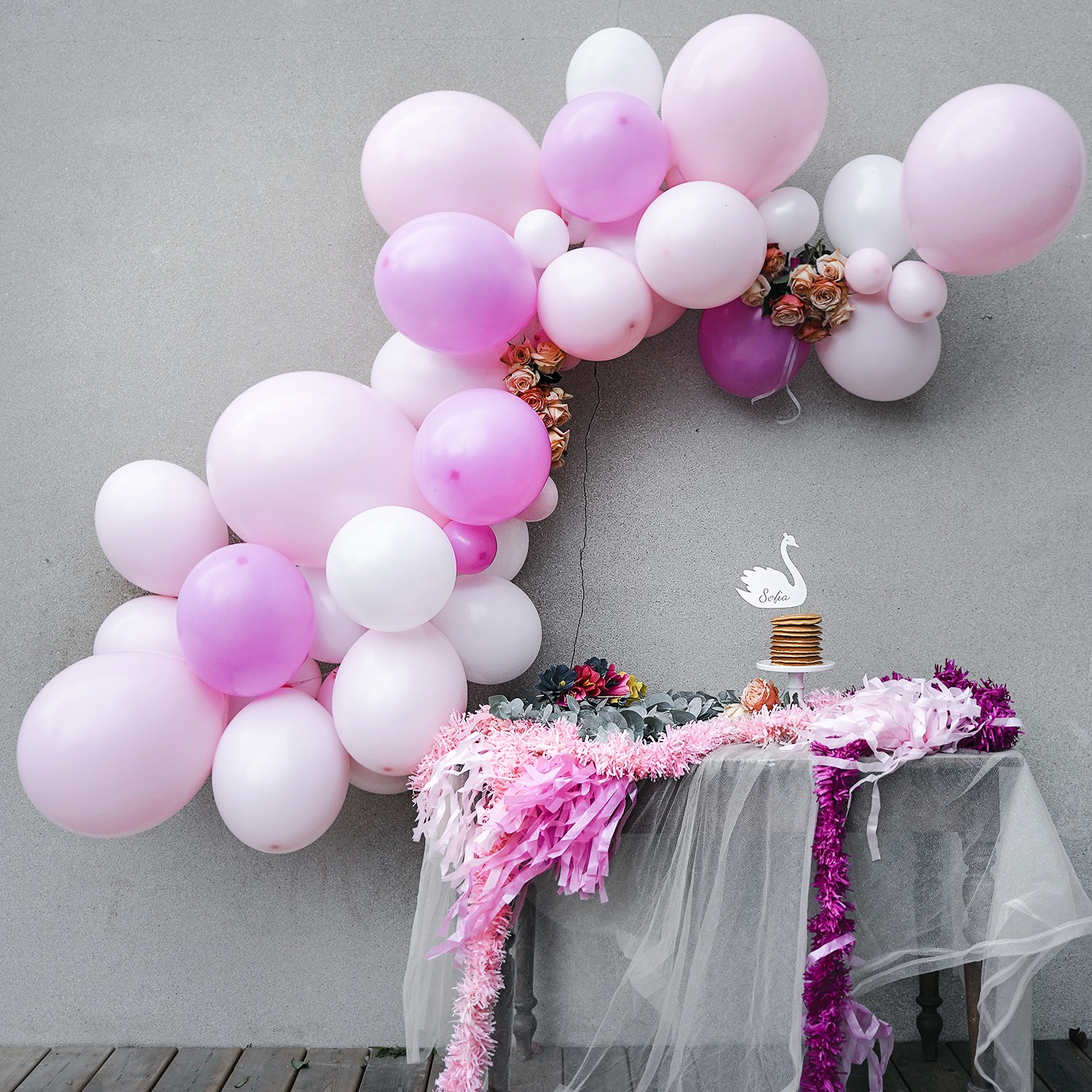 guirlande-ballon-rose-anniversaire-mariage-sweet-party-day