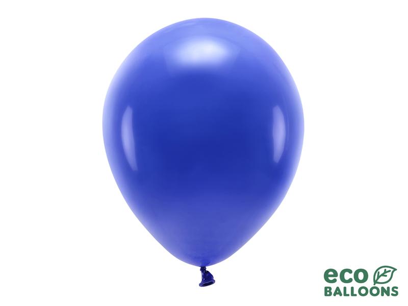 10 ballons de baudruche bleu foncé