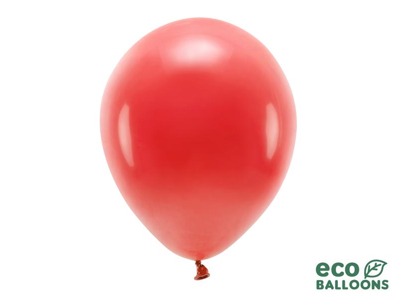 10 ballons de baudruche Rouge