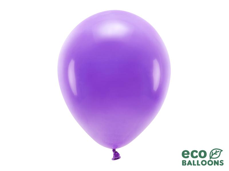 10 ballons de baudruche violet