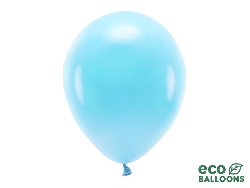 10 ballons de baudruche bleu clair