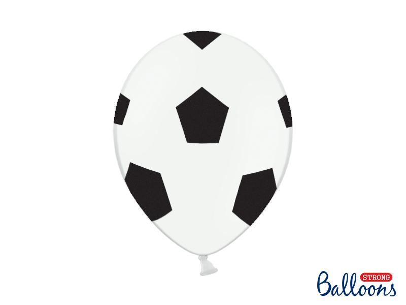 10 ballons de baudruche foot