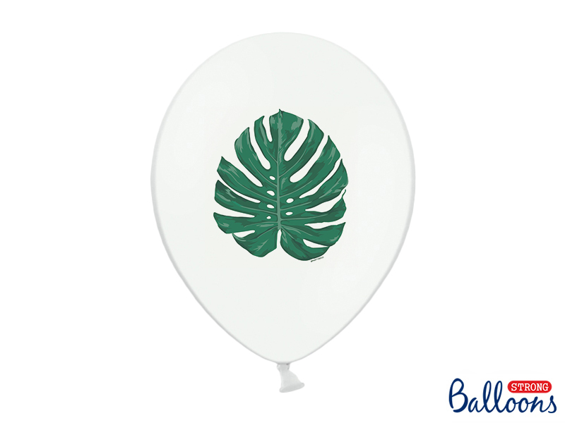 ballon-baudruche-feuille-tropical