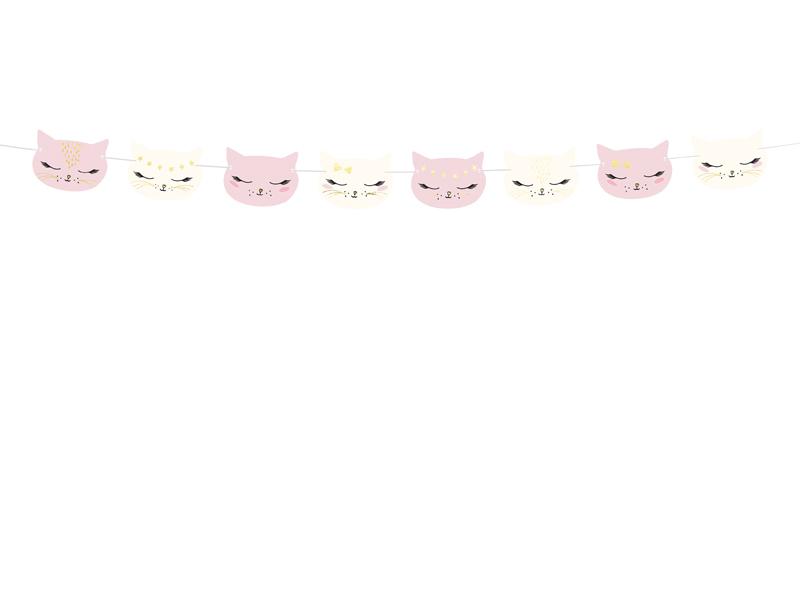 Guirlande chat