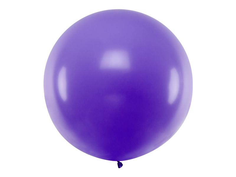 Ballon géant violet