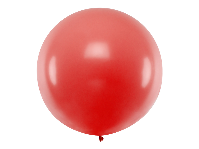 Ballon géant 90 cm latex rouge