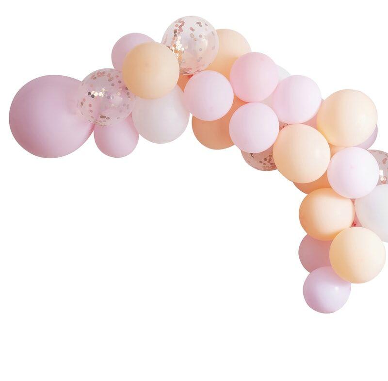 Guirlande de ballons Peach Paradise