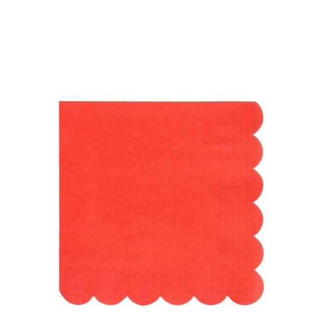 serviette-papier-rouge