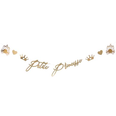 Guirlande anniversaire Petite princesse