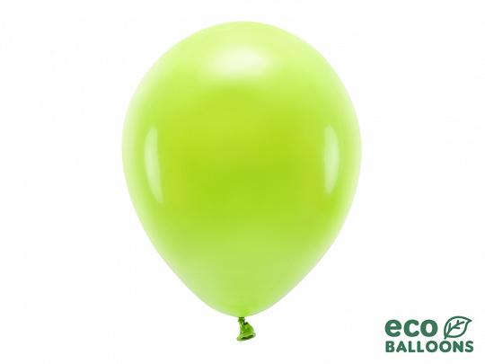 10 ballons de baudruche vert pomme