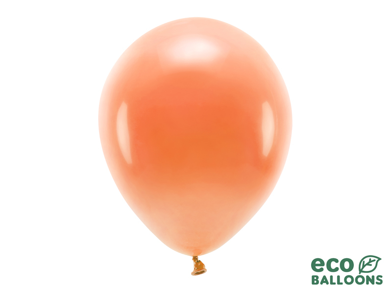 10 ballons de baudruche orange