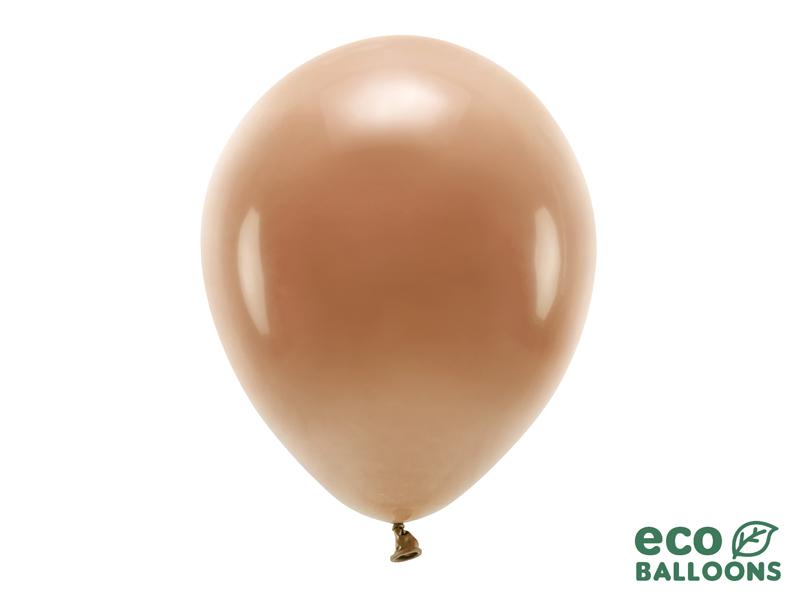 10 ballons de baudruche marron