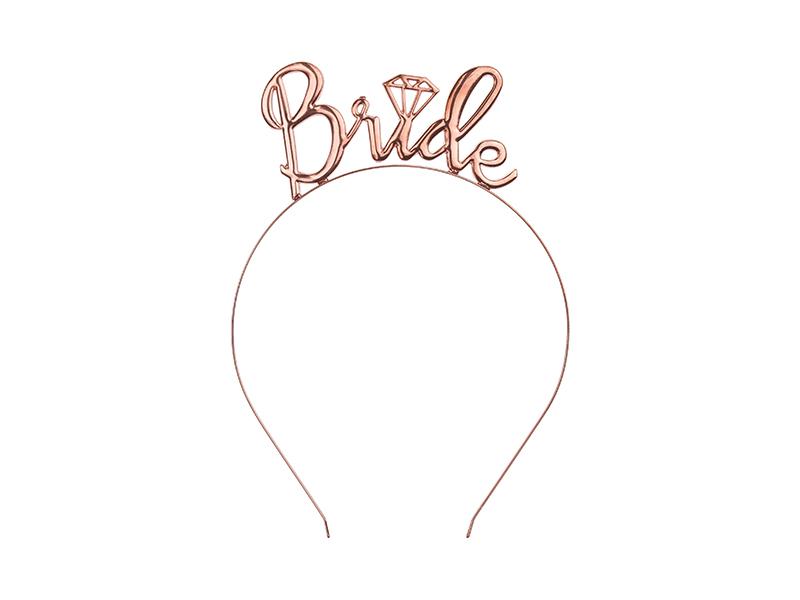 Serre tête rose gold Bride