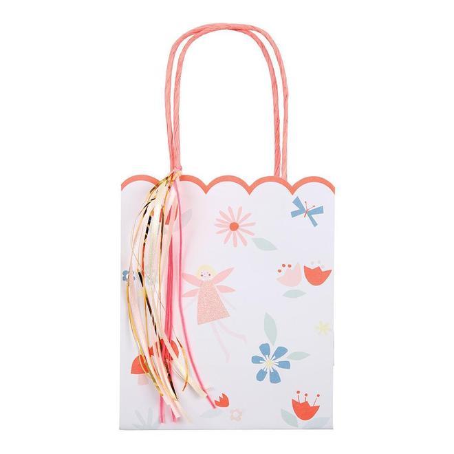 8 sacs cadeaux fée