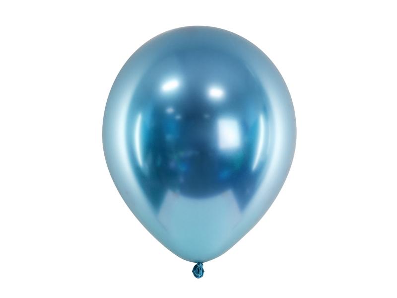 ballon-baudruche-bleu-chrome