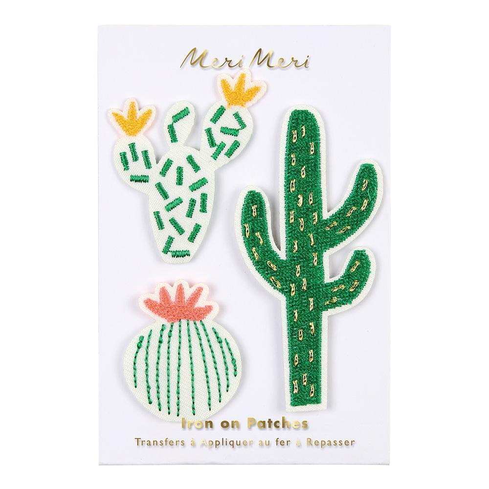 3 patches cactus