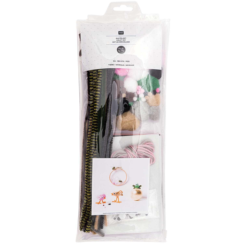 Kit bricolage animaux fil de chenille