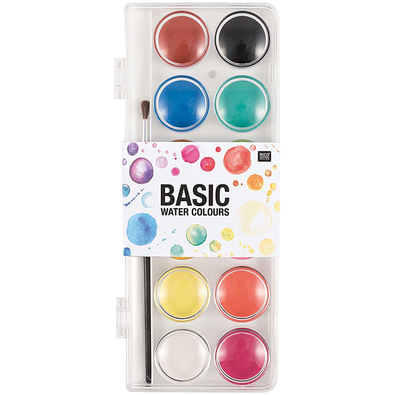 Peinture à l\'eau - 12 couleurs