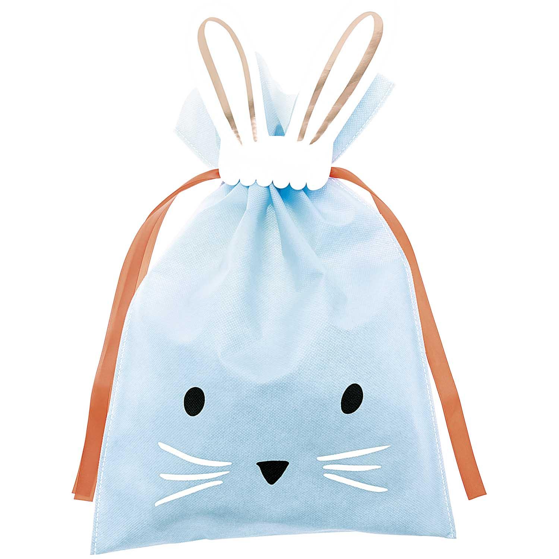 Grand sac lapin bleu clair