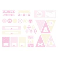 Printable baby shower C'est une fille !