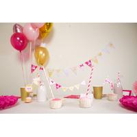 Printable anniversaire 1 an bebe fille theme cygne achat vente - Kit anniversaire bebe 1 an ...